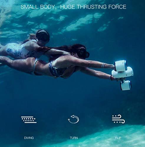 Mini Seascooter FENG Mix Unterwasser Tauchscooter Bild 2*