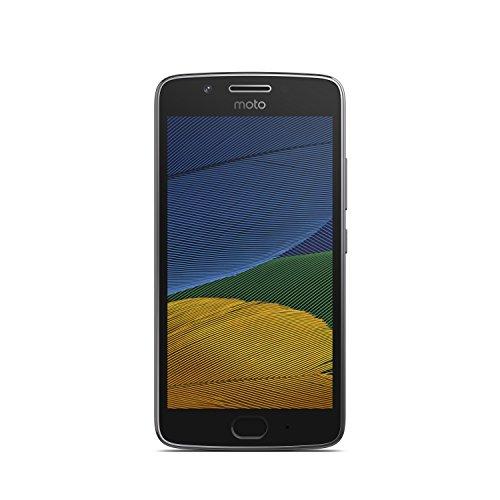 Lenovo Moto G5 16GB with 3GB RAM (Dual Sim) UK SIM-Free Smartphone - Lunar Grey (Exclusive to Amazon)