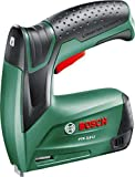 Bosch Cordless Stapler - PTK 3.6 LI (Supplied with Metal box, 1000 Staples (Type 53, Length 8 mm) and Charger)