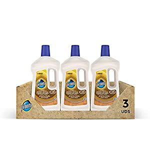 Pronto® Limpiador Jabonoso - Producto de limpieza para suelos y muebles de madera, Pack de 3 x 750 ml