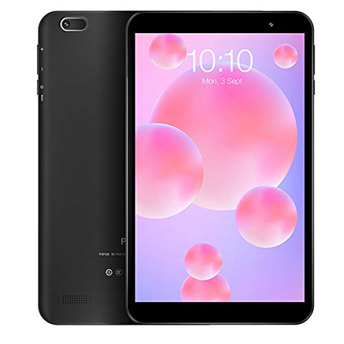 tablet PC PC de 8 Pulgadas con Android 10 de Cuatro núcleos 1280 * 800 FHD + 4000mAh Batería 2.0MP Cámara 2GB + 32GB 64GB Altavoces duales expandibles WiFi/Bluetooth/GPS