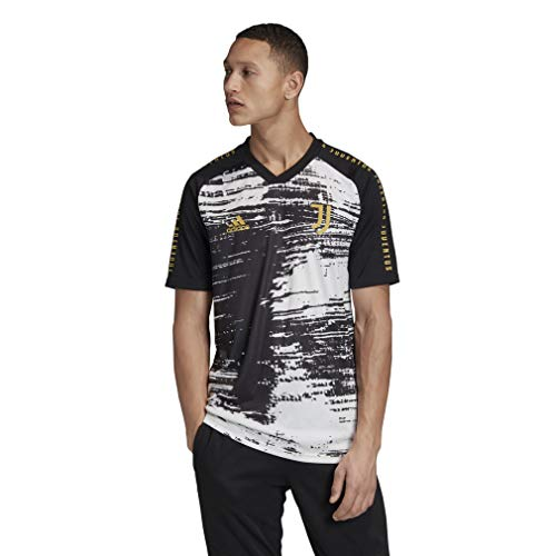 adidas FI4891 Camiseta Deportiva Juventus 2020/2021 para Hombre, Blanco/Negro, L