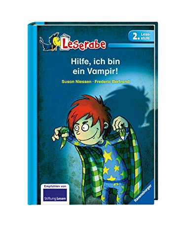 Hilfe, ich bin ein Vampir! - Leserabe 2. Klasse - Erstlesebuch für Kinder ab 7 Jahren (Leserabe - 2. Lesestufe)
