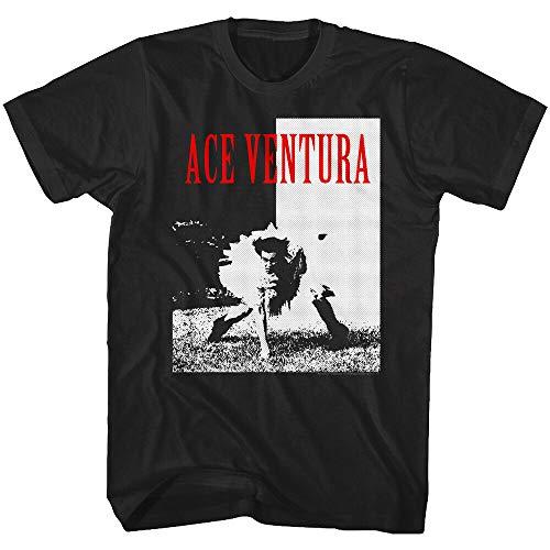 Ace Ventura Pet Detective Scarface Parody Men's T Shirt Coaches Tutu Jim Carrey