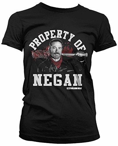 The Walking Dead - Maglietta da Ragazza Property of Negan
