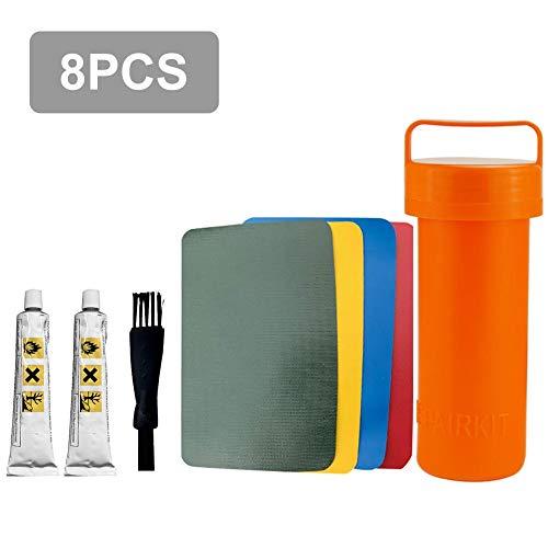 8 Teiliges Reparatur Patches Set für Pools PVC Reparaturset Selbstklebende für Pannenkleber Klebekleber Wasserdicht für Wasserbett, Pool, Planschbecken