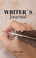Writer`s Journal Hardcover 124 pages 6x9 Inches