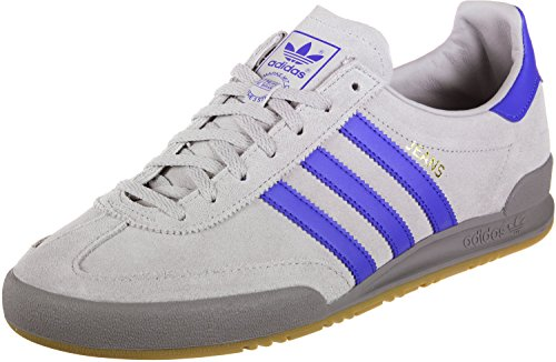 adidas Synthetische Jeans Fitness-Schuhe mit 3 Streifen und Schnürung für Herren 9 UK Grau und Blau