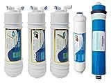 Membrana + 4 filtros osmosis inversa compatible CS