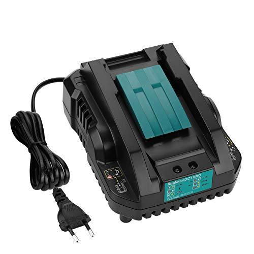 Energup Cargador de 14,4 ~ 18 V 4 A para Makita DC18RA, DC18RD, DC18SF y baterías de 14,4 V ~ 18 V BL1850, BL1840, BL1830, BL1430, BL1415