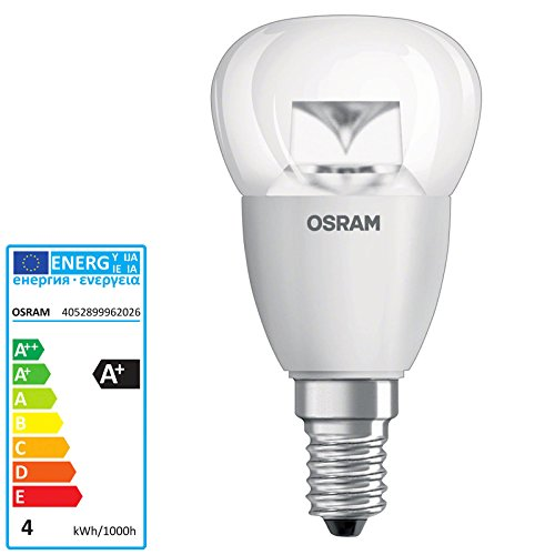 Osram Parathom Classic P PARACLP25A - Bombilla led (casquillo E14, 3,3 W, luz blanca cálida 827)