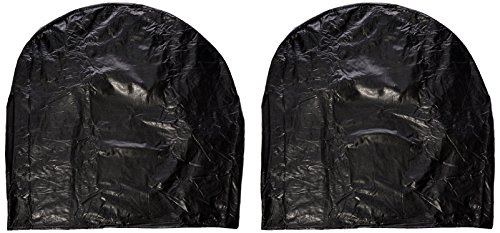 ADCO 3971 Vinyl Ultra Tyre Gard Wheel Cover, Fits Tire Diameter 33 -35 inches, Black, Set of 2