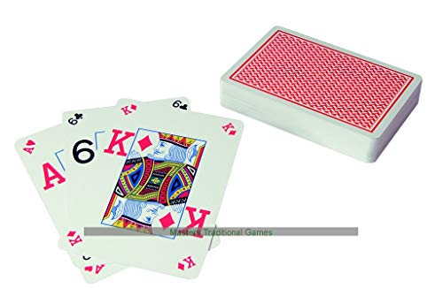 Copag 2 Decks of Texas Hold-em Poker Cards (Red)