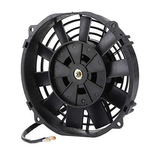 KIMISS 10 Blades Elektrischer Kühler Kühlerlüfter Universeller elektrischer Lüfter 8 Zoll für die automatische Kühlung des Kühlers Klimaanlage 12V 80W