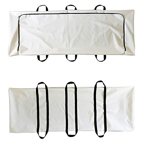 YYSDH Sábana portátil Bolsa de cadáver Capacidad: 300 Kg Thole mortaja Bolsa de plástico Bolsa de cadáveres Disponible Emergencia Cuerpo a Prueba de Fugas Bolsa de Tela pañal de Tela Oxford,A
