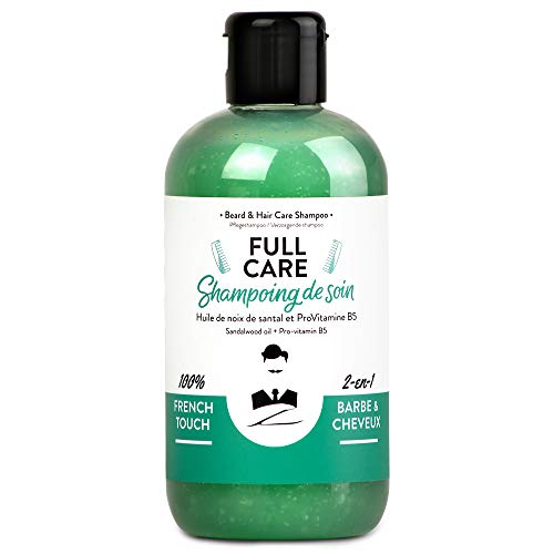 Monsieur BARBIER Shampoing Homme Barbe/Cheveux sans Sulfate...
