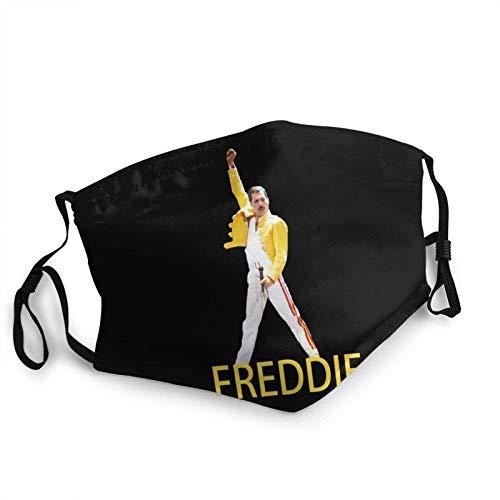 FlonzGift Máscara facial Freddie Mercury locomotora resistente al viento a prueba de polvo y polvo a prueba de cabeza y cuello