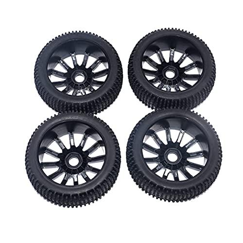 UGUTER ZLD 4 Piezas RC Buggy Ruedas y neumáticos 1/8 Escala de automóvil Fuera de Carretera para HPI REDCAT