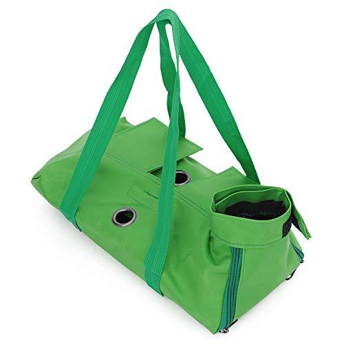 Maxte Multifunktionale Hunde-/Katzen-Pflegetasche zum Baden, Waschen, Trimmen von Nägeln, Grün/Blau