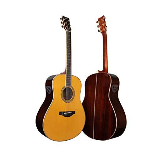 Instrumentos musicales Guitarra eléctrica Yamaha LLTA Junta Folk eléctricos Box Principiante Hombres...