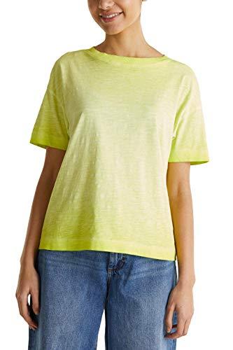 edc by Esprit 040cc1k302 Camiseta, 320/Citrus Green, S para Mujer