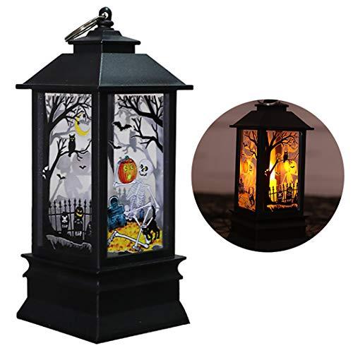 Halloween Lantaarn creatieve vuurtoren vorm tafellamp party hangende versiering