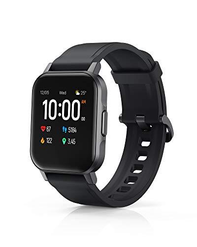 AUKEY Smartwatch, Reloj Inteligente Deportivo Impermeable IP68 Pulsera de Actividad Inteligente con Monitor de Sueño Controlador de Música para Hombre Mujer y Niños, Admite Android y iOS