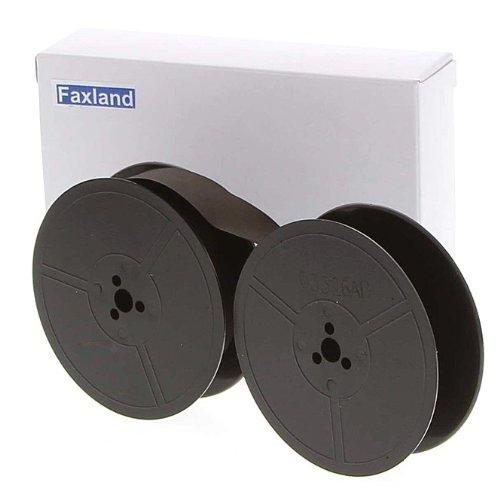 Farbband - schwarz- für DIN 2103 Doppelspule, kompatibel Marke Faxland