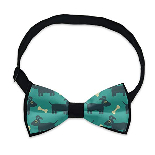 Pre-Tied Premium Bow Ties, Dog and Bone Neck Band Ties Formal Tuxedo Butterfly Bow Tie For Adults & Children - Suit Accessories, Holiday Fun Occasions
