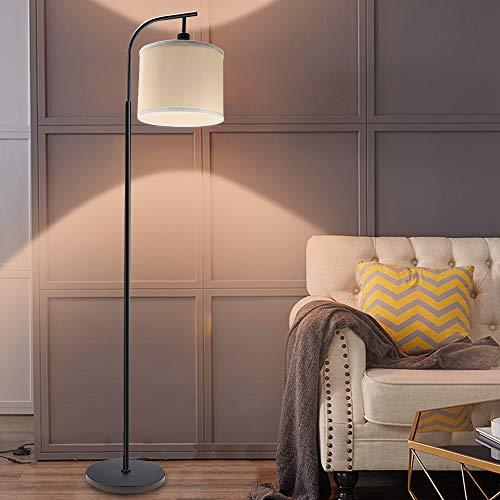 フロアライト スタンドライト シェード型 LEDランプ 北欧 デザイン 雰囲気を変える フロアスタンド LED電球 E26付き 調光調色 モダン リビング用 居間用リモコン操作 電気スタンド