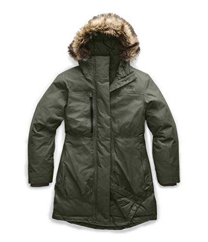 The North Face Women's Downtown Parka, New Taupe Green, Medium