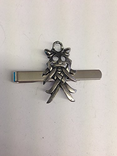 Odins Maske we-omkr English Pewter Emblem auf eine Krawatte Clip (Slide)