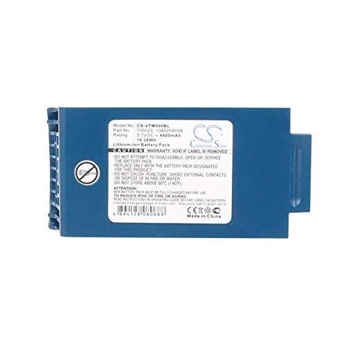 Batterie de scanner de code à barres Une batterie de scanner de codes à barres Li-ion de 4400mAh / 16.28Wh 3.7V compatible pour Vocollect convient aux piles rechargeables du modèle A4700 / A500 / T5 B