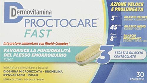 Dermovitamina 7Ao137 Proctocare Fast Integratore Alimentare 30 Cpr - 39 Gr