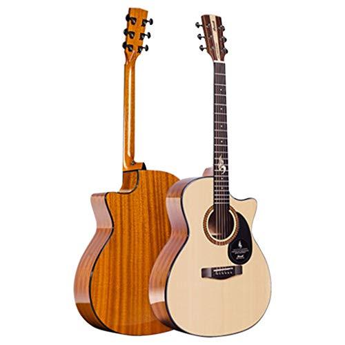 Instrumentos musicales Guitarra Single Board Guitar Blues-S25N-ACG Bajo Eléctrico Chapa Conmemorativa Emblemática...