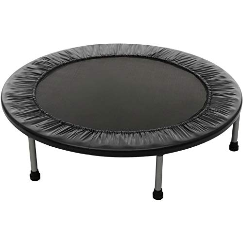 Trampoline Fitness Trampoline Mini Foldable Trampoline With Adjustable Armrest Fitness Training Trampoline, User Weight Up To 135kg, Trampoline Can Be Used For Jumping Home Exercise Foldable Trampolin