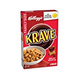 Kellogg's Krave Chocolatey Cereal Family Size 525 grams