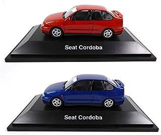 Lot de 2 Voitures 1//43 Compatible avec Seat EXEO OPO 10 Fisher SE17+SE23