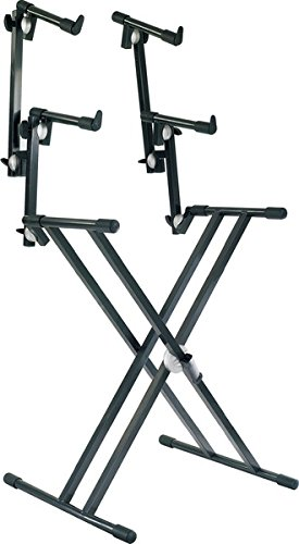 Find Discount Proel SPL253 - Professional 3 tier Keyboard Stand. 'SNAP LOCK' adjustment system with ...