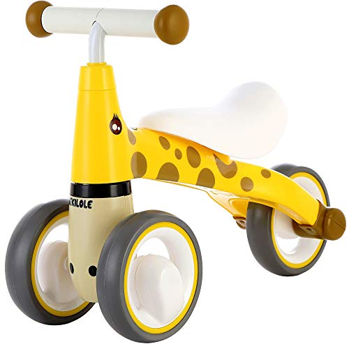 Bekilele Baby Balance Bike Giro su Trike Baby Walker 12-24 Mesi Giocattoli per 1 anno Ragazzi Ragazze Baby Walking Bike First Bike