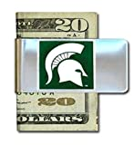 NCAA Siskiyou Sports Mens Michigan State Spartans Steel Money Clip One Size Team Color