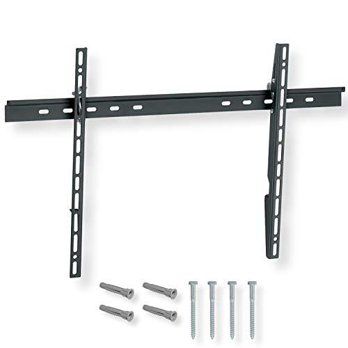 NANOOK Supporto TV a muro inclinabile per televisore 40-65 pollici | Inclinazione | Soluzione di montaggio per televisori LCD, LED e OLED | Compatibilità universale | VESA 100x100 - 600x400 | Nero