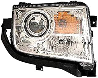 Replacement Passenger Side Headlight Assembly Halogen wo Adaptive For 2010+ Lincoln MKX
