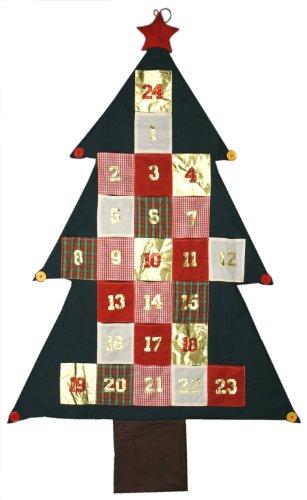 172cm XXL Adventskalender Advent Kalender Deko Wandbehang Weihnachtsdeko Geschenk Weihnachten zum aufhängen
