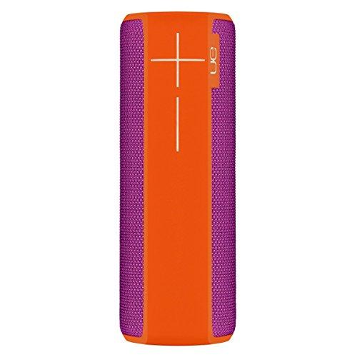 Ultimate Ears Boom 2 Tragbarer Bluetooth-Lautsprecher, 360° Sound, Wasserdicht und Stoßfest, App-Navigation, Kann mit weiteren Lautsprechern verbunden werden, 15-Stunden Akkulaufzeit - orange violet