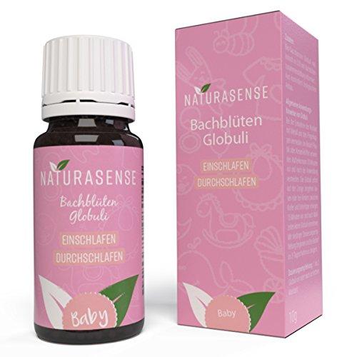 Naturasense Bachblüten Baby Gute Nacht Globuli - Dr. Bach Night Notfall Globuli für Babys | Natürliches Hilfsmittel aus der Apotheke