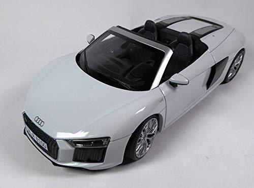 OPO 10 - Auto 1/18 iScale Compatibile con Audi Sport R8 Spyder V10 1:18 (044799)