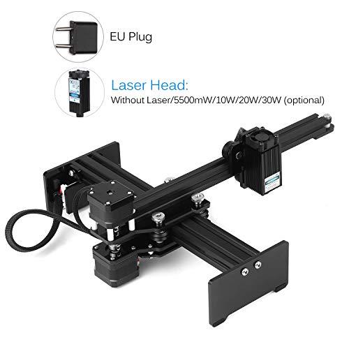 Kecheer CNC-machine lasergraveermachine lasergraveermachine mini desktop lasergravure printer draagbare snijder DIY Laser Logo Mark printer werkgebied 170 * 200mm (30 W) 5500mw