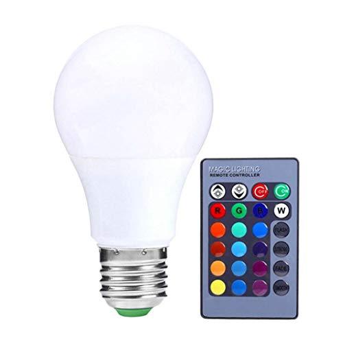 joyMerit LED E27 RGB 3 W / 5 W / 10 W Glühbirne Farbige Glühlampe Mit Fernbedienung - 10W