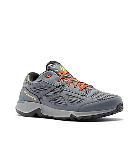 Columbia mens Vitesse Fasttrack Waterproof Hiking Shoe, Graphite/Bright Gold, 9.5 US